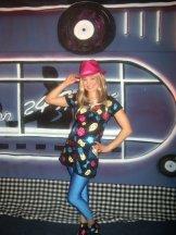 In costume pre-show
